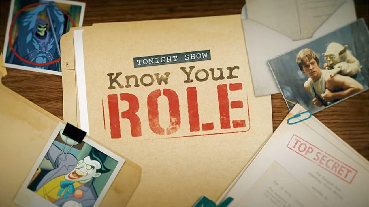 Know Your Role: Jimmy Fallon spielt mit Mark Hamill Quiz über Star Wars, Joker und Masters of the Universe