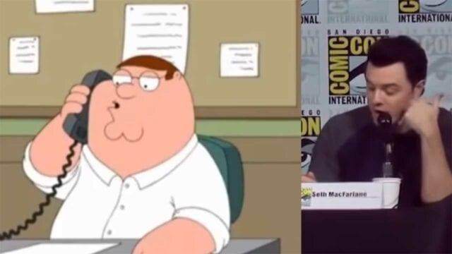 """Seth MacFarlane spricht live Stimmen aus """"American Dad"""" & """"Family Guy"""""""